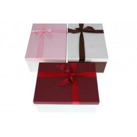 Papier pudełka set FLOWER BOX ZESTAW 10szt. kolor