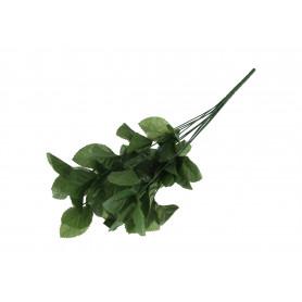 Kwiaty sztuczne ciemnozielony stelaż róży