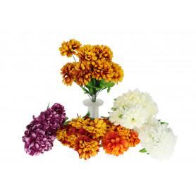 Kwiaty sztuczne bukiet chryzantem
