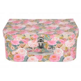 Papier kuferek kwiatow 3w1