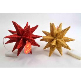 Рождественская блестящая звезда LED