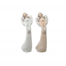 Ceramiczny anioł - figurka Anielka