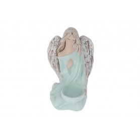 Ceramiczna figurka Weronika z tealight