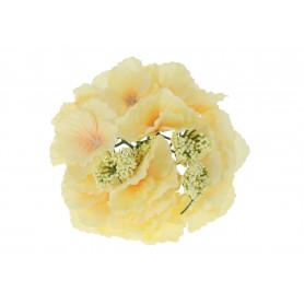 Kwiaty sztuczne chryzantema głowa 16cm