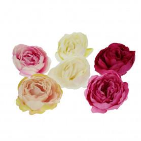 kwiaty sztuczne peonia wyrobowa mix kolo