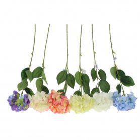 Kwiaty sztuczne hortensja gałązka