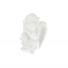 Gipsowy anioł średni zamyślony
