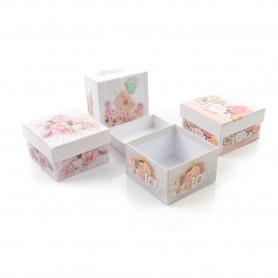 Papierowy Flower Box LOVE  12 szt.
