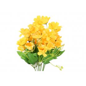 Kwiaty sztuczne stokrotka bukiet