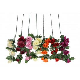 Kwiaty sztuczne róża pojedyńcza