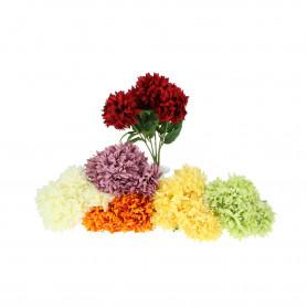 Kwiaty sztuczne bukiet chryzantemy a'la alium