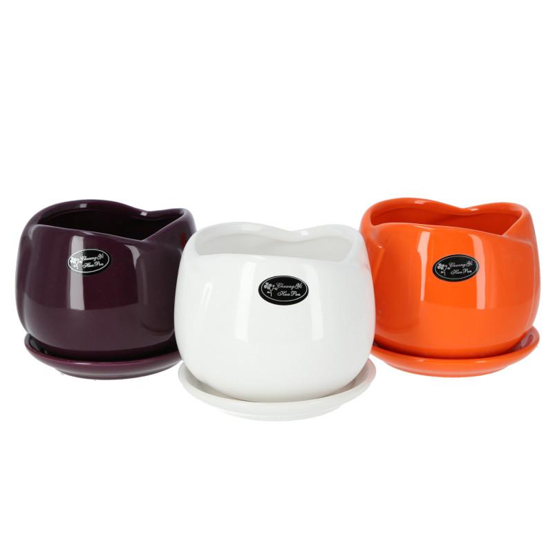 Ceramiczna doniczka TULIPAN