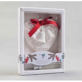 Рождественская декорация с гипса ароматное сердце