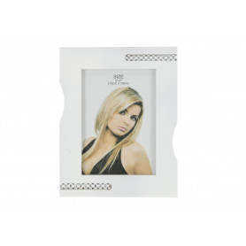 Drewno ramka WHITE SIMPLE13x18cm-foto