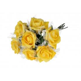 RÓŻYCZKA PIANKOWA (Kwiaty sztuczne)