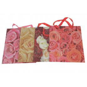 Papierowa torebka kwiatowa 32x26x10 cm
