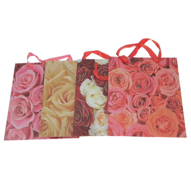 Papier torebka kwiatowa 32x26x10 cm