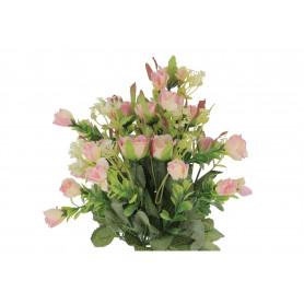 Kwiaty sztuczne bukiet różyczek