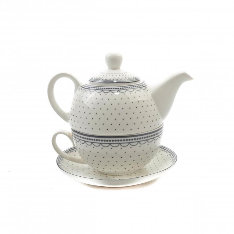 Ceramiczny czajniczek z filiżanką 250ml