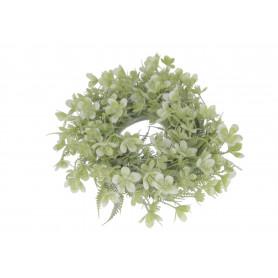 Kwiaty sztuczne wianek 25cm