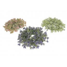 Kwiaty sztuczne wianek