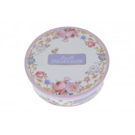 Ceramika filiżanka ze spodkiem 250ml ROSE