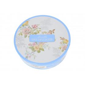 Ceramika filiżanka ze spodkiem 250ml kwiaty