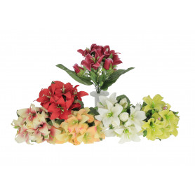 Искусственные цветы: букет лилии