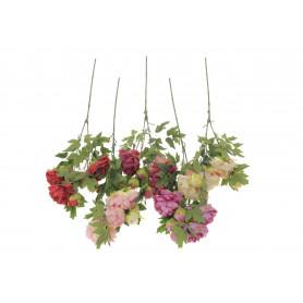 Kwiaty sztuczne piwonia gałązka