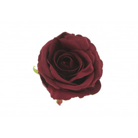 Kwiaty sztuczne róża główka velvet