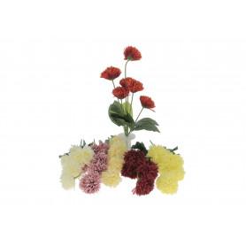 Kwiaty sztuczne bukiet aster x6