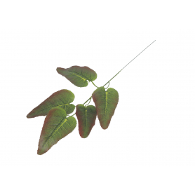 Kwiaty sztuczne liść 55x25 12 szt.wzór