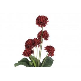 Kwiaty sztuczne bukiet chryzantem x6