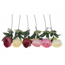Kwiaty sztuczne peonia