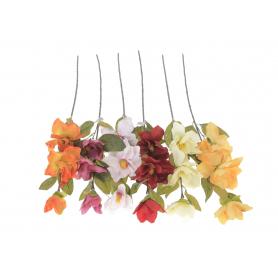 Искусственные цветы: веточка магнолии
