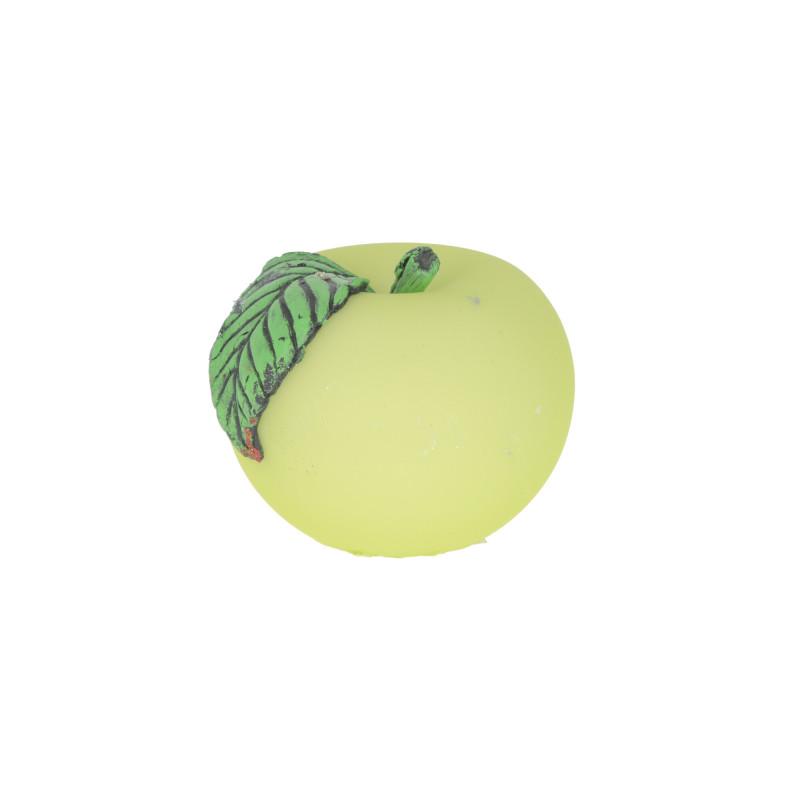 Świeca jabłko welur kula 10