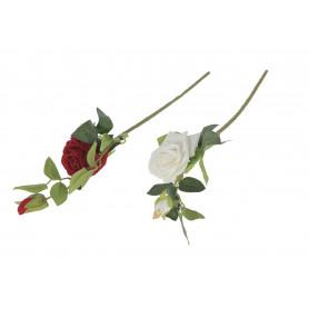 Róża gałązka welwet