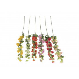 Kwiaty sztuczne malwa gałązka