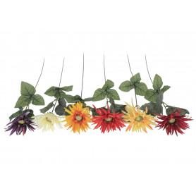 Kwiaty sztuczne gerbera strzępiasta gał