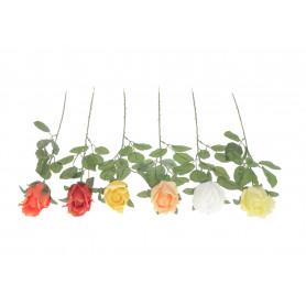 Kwiaty sztuczne róża w pąku gałązka