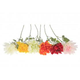 Kwiaty sztuczne dalia gałązka