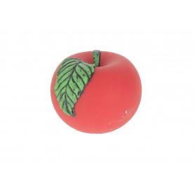 Свеча яблоко велюр 10