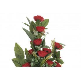 Kwiaty sztuczne bukiet róza