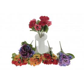 Kwiaty sztuczne bukiet anemon
