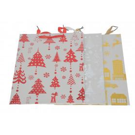 Bożonarodzeniowa torebka święta
