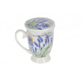 Ceramiczny kubek 320 ml z zaparzaczem