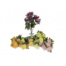 Kwiaty sztuczne chryzantemka bukiet
