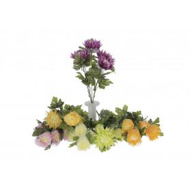 Kwiaty sztuczne chryzantemowy bukiet