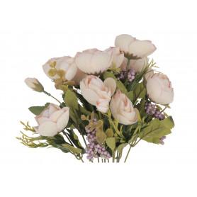 Искусственные цветы: букет камелии