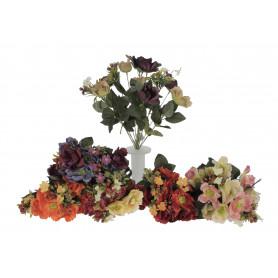 Kwiaty sztuczne bukiet anemon mix